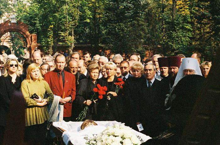 похороны раисы горбачевой фото
