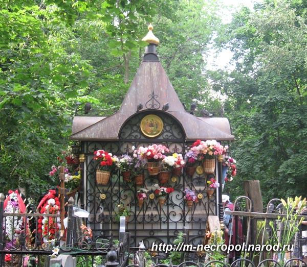 Матрона московская где находиться могила