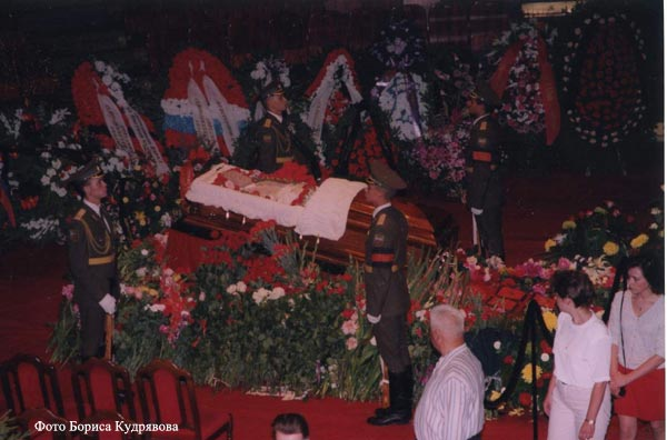 фото похороны никулина