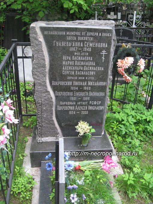 Покровский алексей николаевич 1924 2009